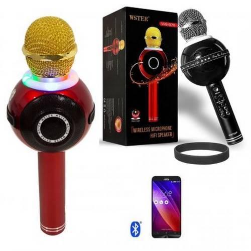 Беспроводной караоке микрофон WS 878 оптом