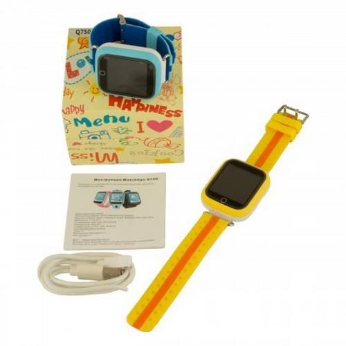 Детские умные часы Q100 (Q750) оптом