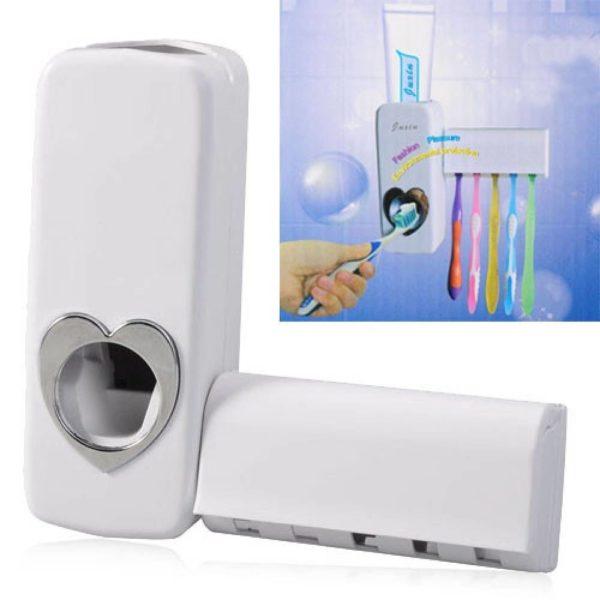 Автоматический дозатор для зубной пасты с держателем для щеток Kaixin оптом