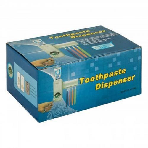 Автоматический дозатор для зубной пасты с держателем для щеток Touch Me оптом
