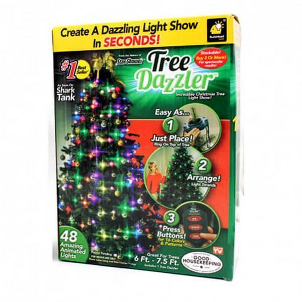 Елочная гирлянда Tree Dazzler 48 лампочек оптом
