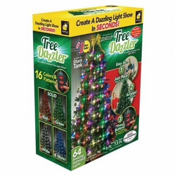 Елочная гирлянда Tree Dazzler 64 лампочки оптом