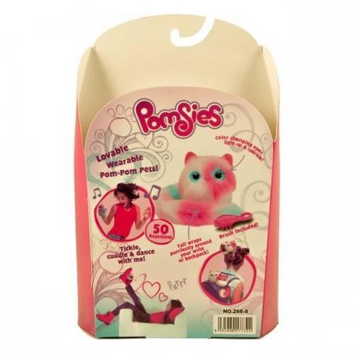 Интерактивная игрушка котенок Pomsies оптом