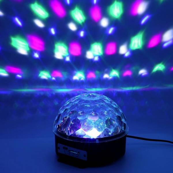 Светодиодный диско-шар MP3 Led Magic Ball Light оптом