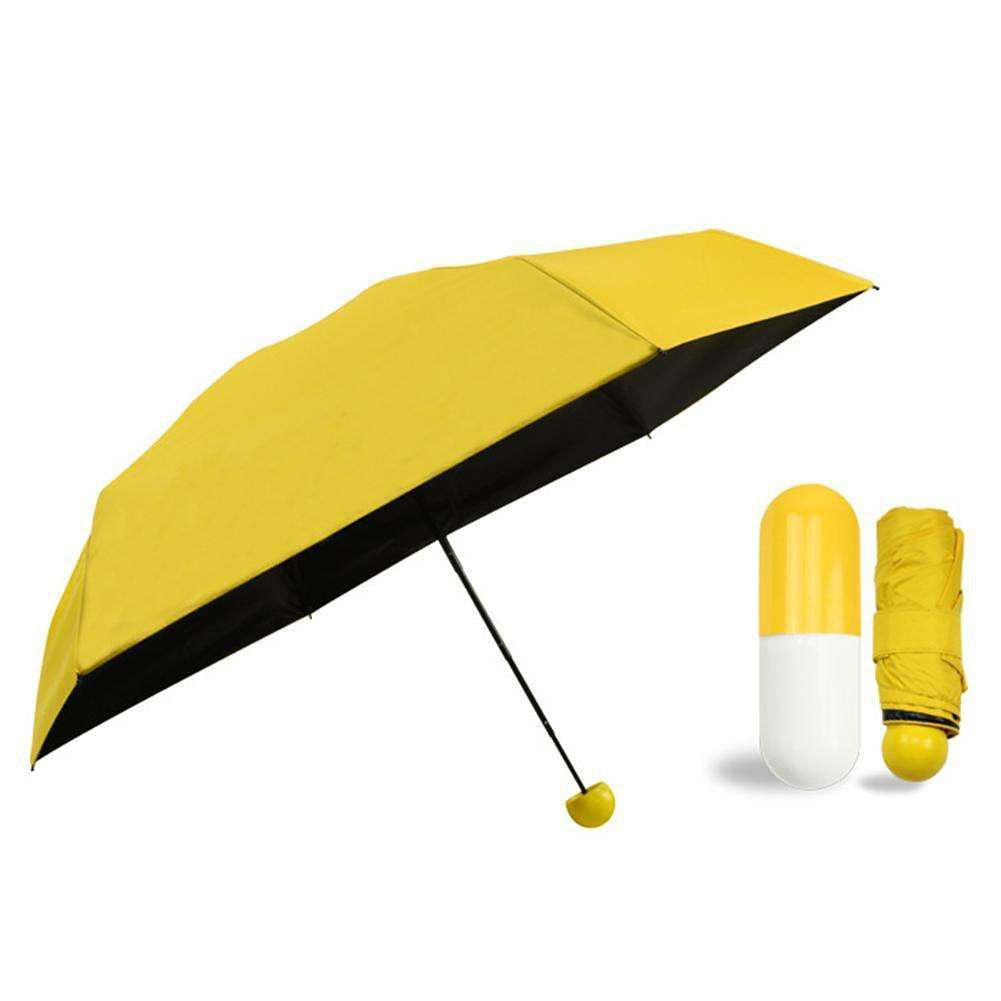 Мини зонт в футляре капсула оптом