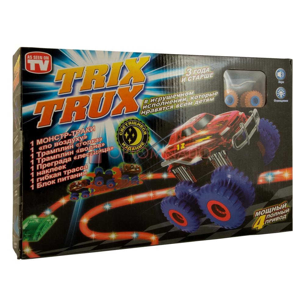 Монстр Траки Trix Trux с 1 машинкой оптом