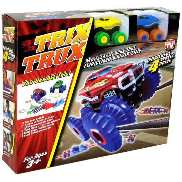 Монстр Траки Trix Trux с 2 машинками оптом