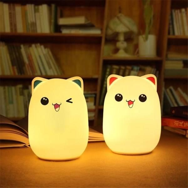 Ночник-лампа Bud Bear Silicone Lamp оптом