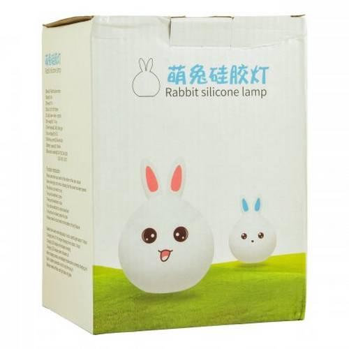 Ночник-лампа Rabbit Silicone Lamp оптом