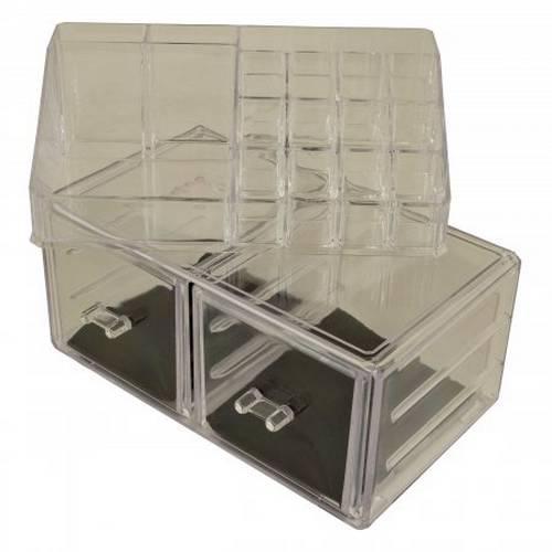 Органайзер для косметики Cosmetic storage box (2 ящика) оптом