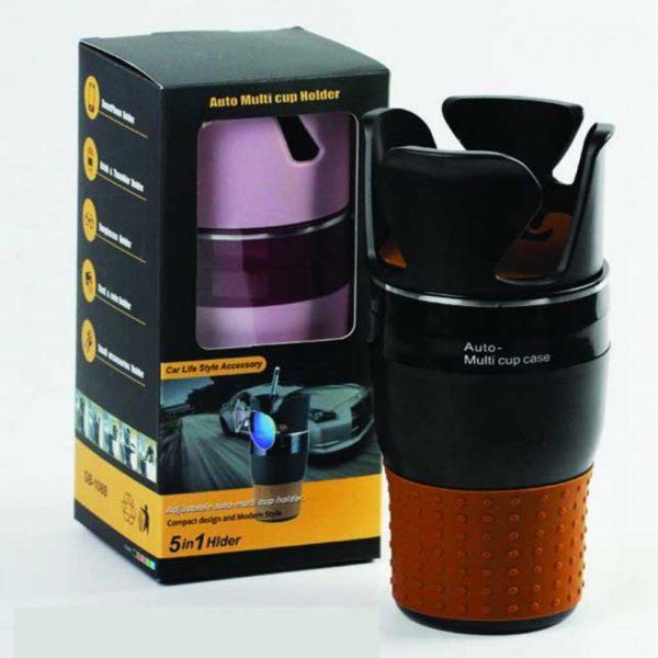 Автомобильный держатель подставка 5 в 1 Change Auto-Multi Cup Case оптом