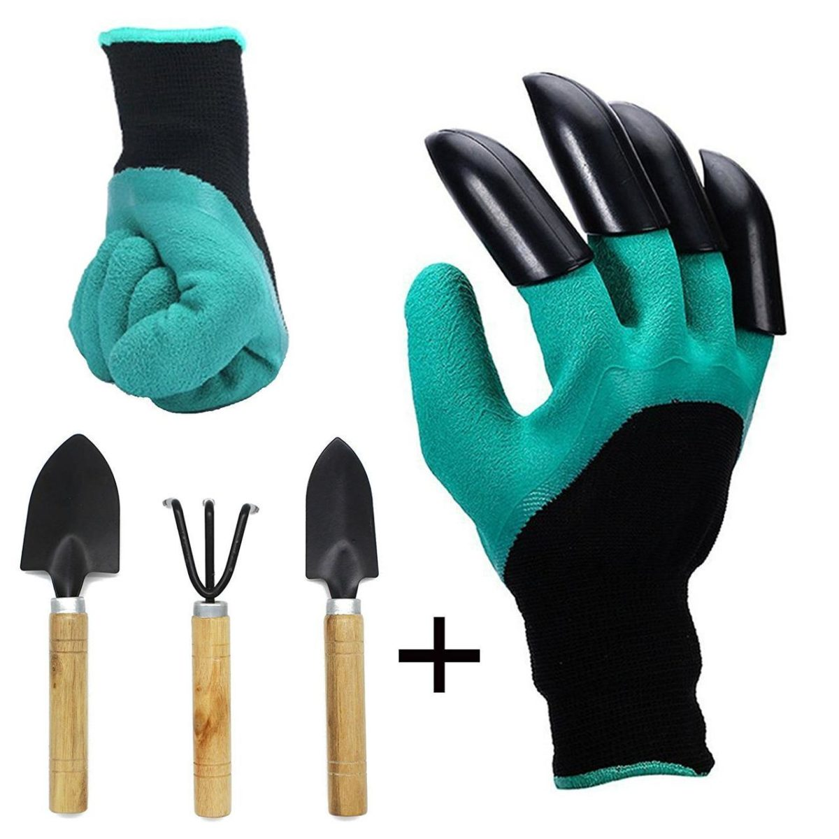 Садовые перчатки с когтями Garden Genie Gloves оптом