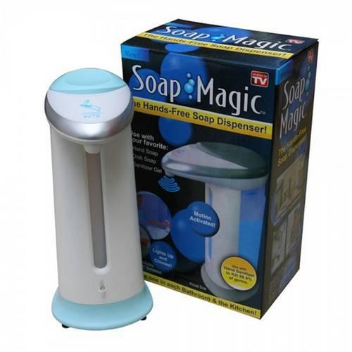 Сенсорная мыльница дозатор Soap Magic оптом