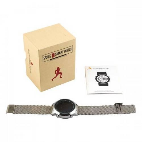 Умные часы Sports Smart Watch EX18 стальные оптом