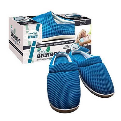 Тапочки Cool Bamboo Anti-fatigue Gel Slippers оптом