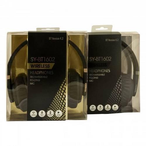 Беспроводные наушники-гарнитура Wireless Headphone SY-BT1602 оптом