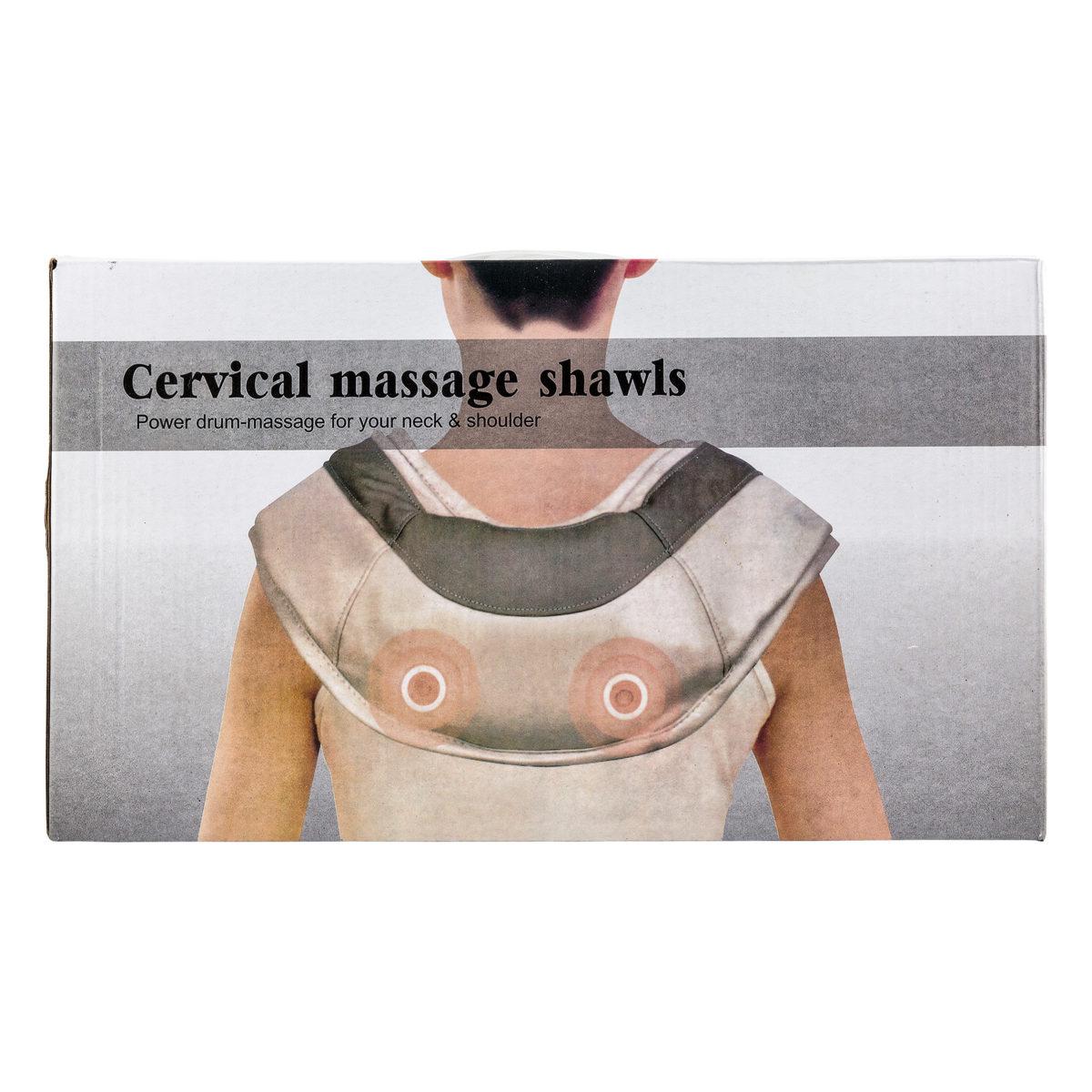 Массажер Cervical massage shawls оптом