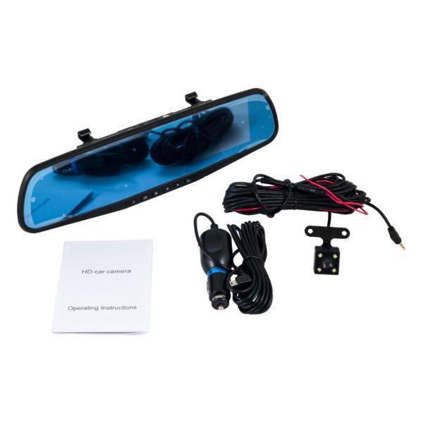 Зеркало видеорегистратор Vehicle Blackbox DVR с камерой заднего вида оптом