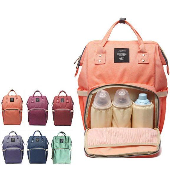 Сумка рюкзак для мамы baby mo оптом