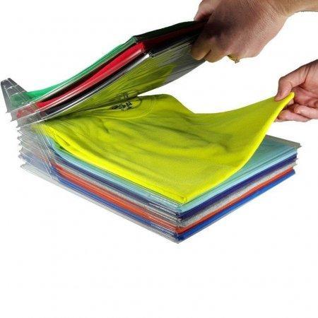 Органайзер для одежды Ezstax T-shirt organizing system оптом
