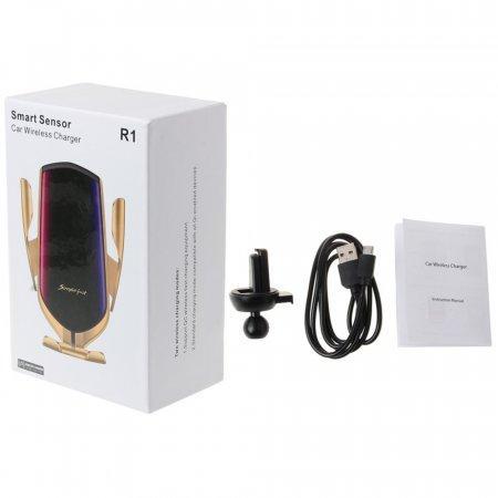 Автомобильное беспроводное зарядное устройство Smart Sensor Car Wireless Charger R1