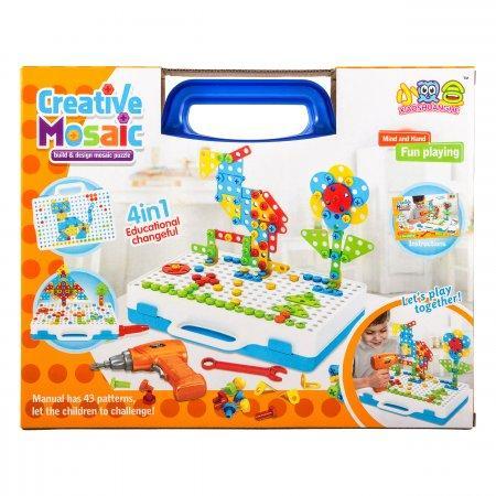 Creative Mosaic конструктор мозаика 4в1 237 деталей оптом
