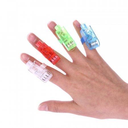Laser Finger Beams комплект фонариков на пальцы оптом