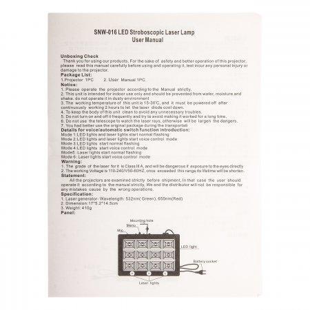 Led Room Strobe 12 светодиодный стробоскоп оптом