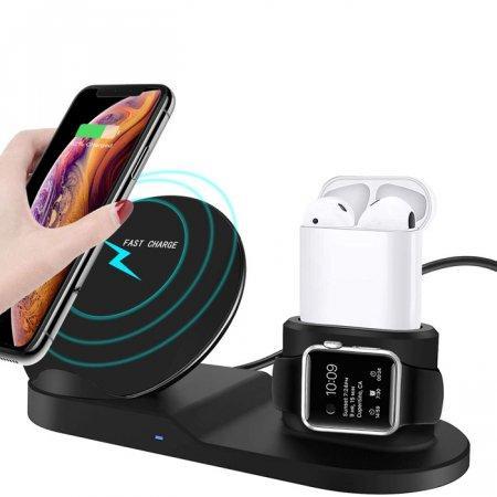 Fast Charge 3 в 1 беспроводная зарядка оптом