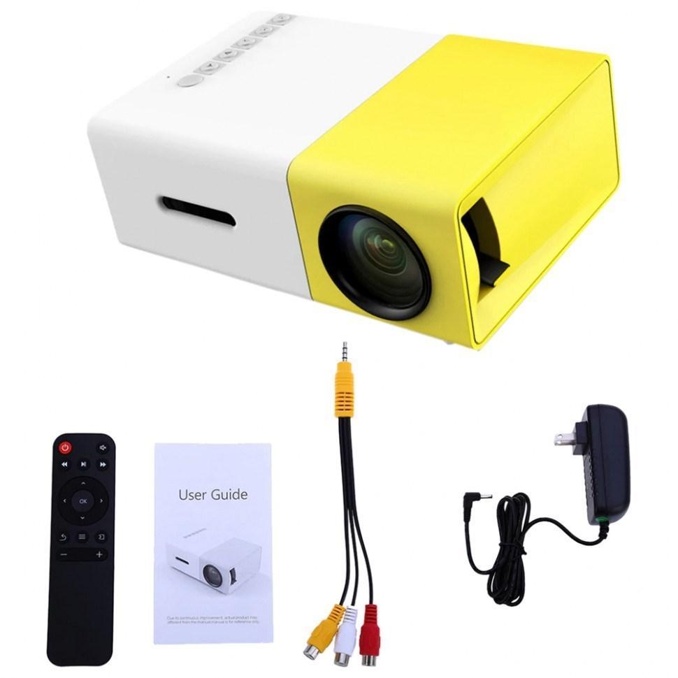 LED Projector YG 300 Мини проектор оптом